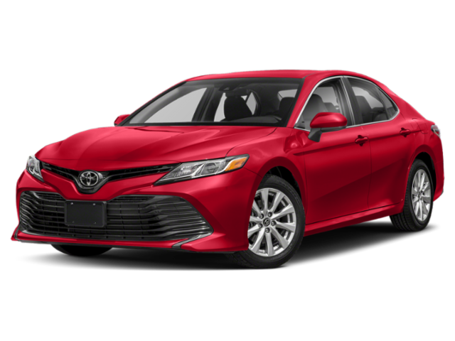Red 2019 Toyota Camry