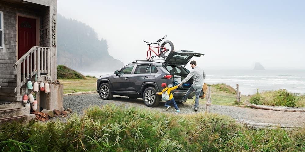 2019 Toyota RAV4 at Lake