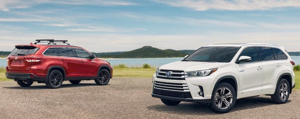 2019 Toyota Highlander Colors
