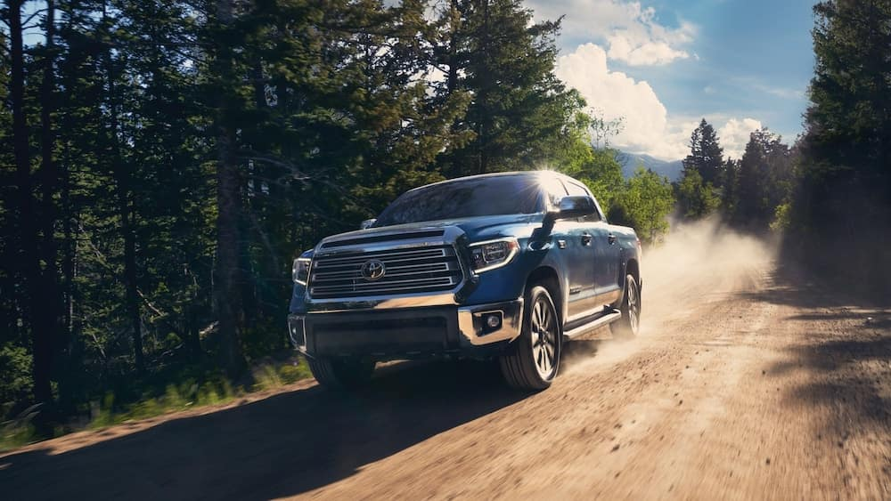 2020 Toyota Tundra on Dirt