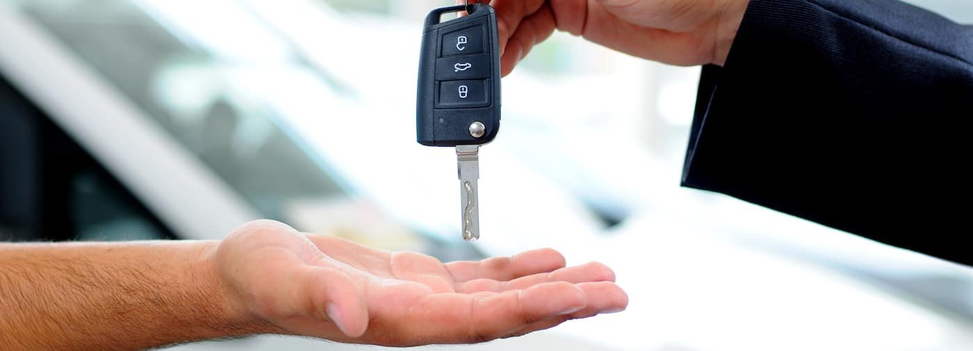 Handing Over Car Key