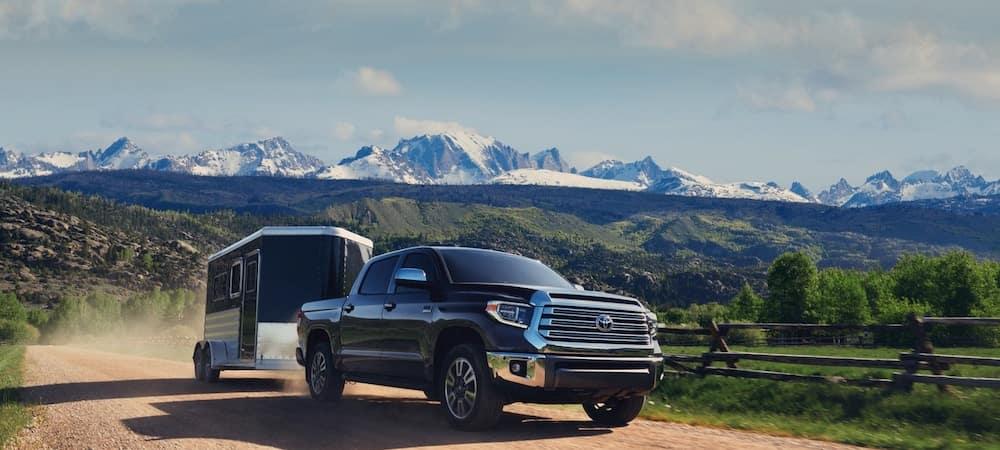 2020 Toyota Tundra Towing Capacity Tundra Payload Sam Leman Toyota Bloomington