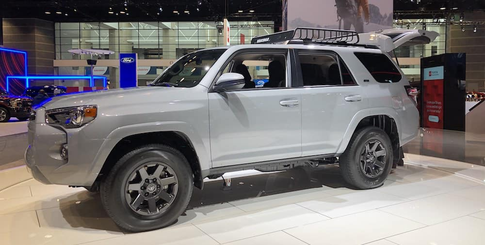 Toyota 4Runner Trail Edition Chicago Auto Show