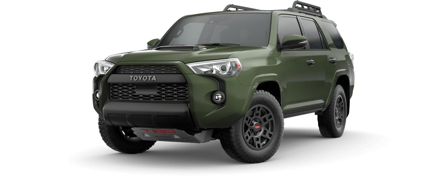 2020 Toyota 4Runner TRD Pro Army Green