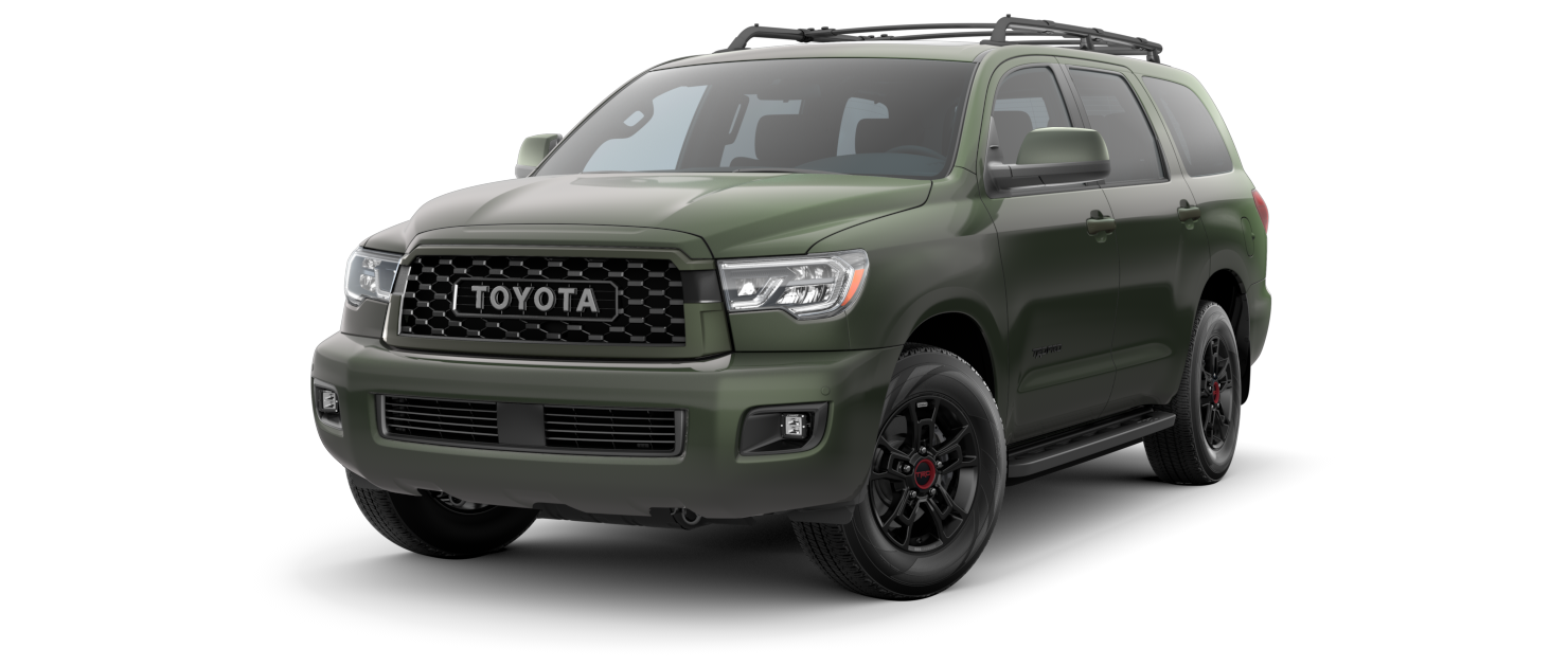 2020 Toyota Sequoia TRD Pro Army Green