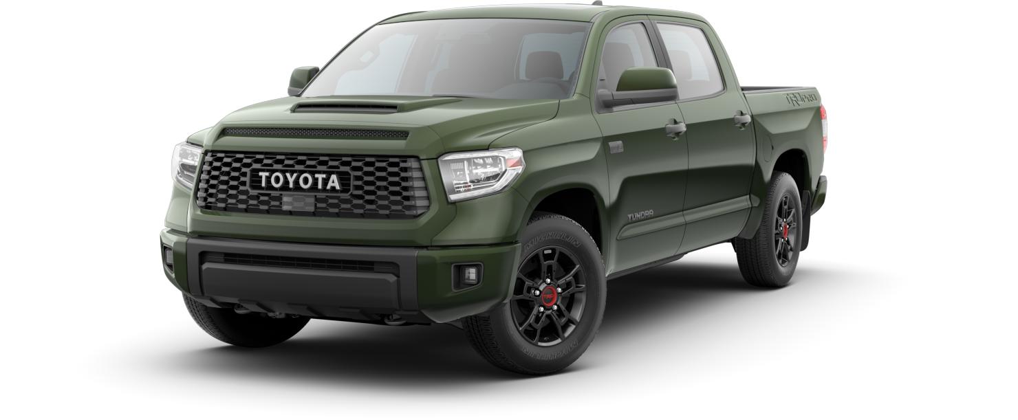 2020 Toyota Tundra TRD Pro Army Green