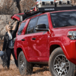 2020 Toyota 4Runner towing banner