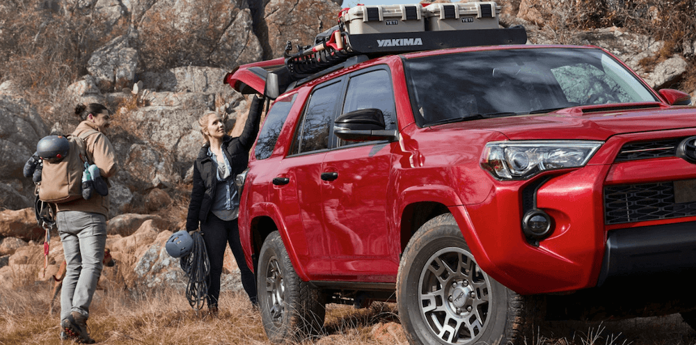 2020 Toyota 4Runner towing banner