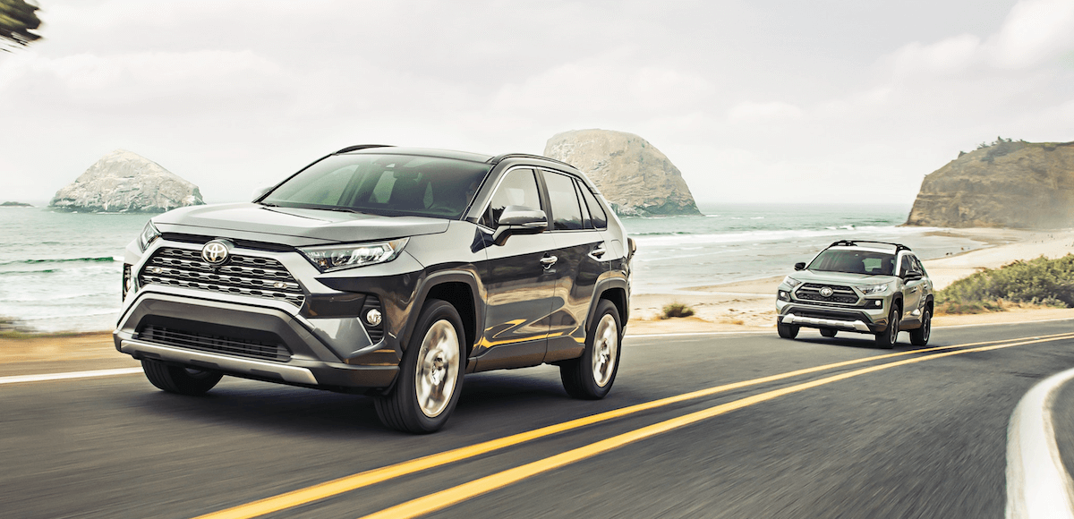 2021 Toyota RAV4 Trim Level Comparison Banner