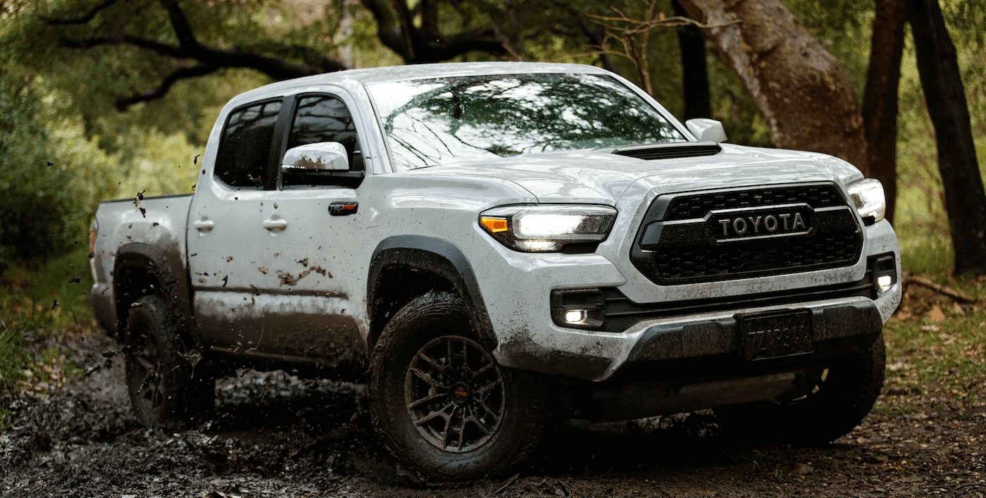 2021 Toyota Tacoma TRD Off-Road Banner