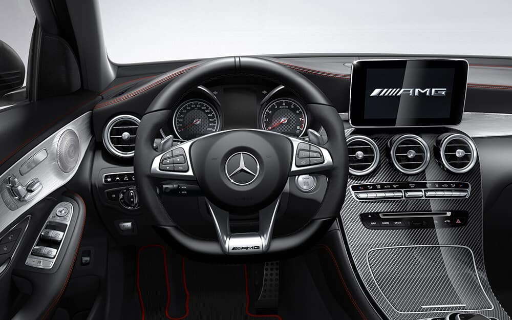 2018 MB AMG GLC interior dash