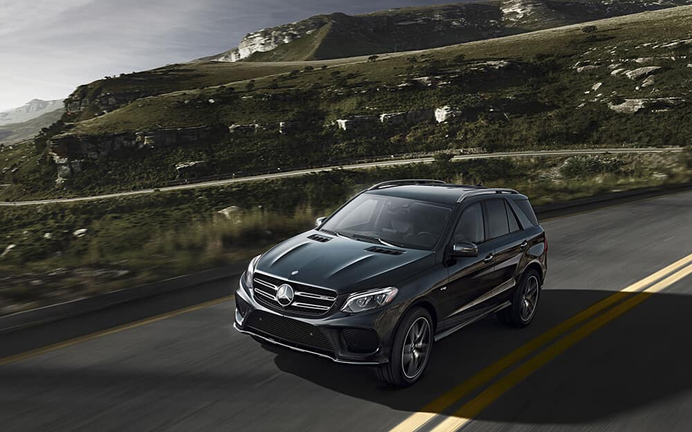 2018 MB AMG GLE driving on road