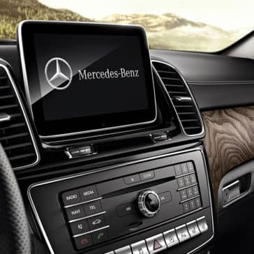 2018 MG AMG GLE dashboard technology