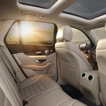 2018 MB GLC 300 interior