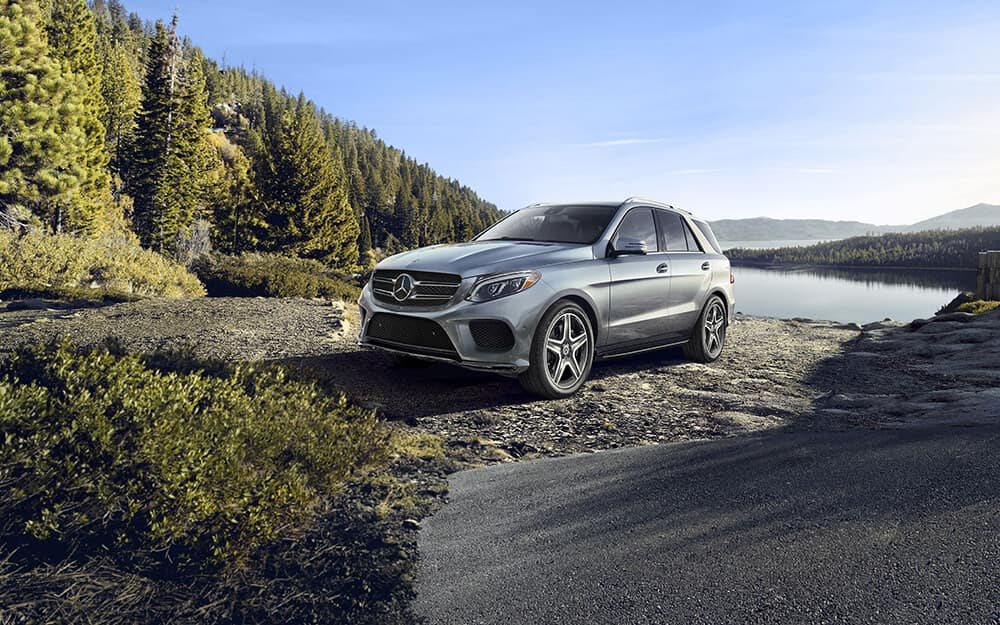 2018 MB GLE 350 in nature