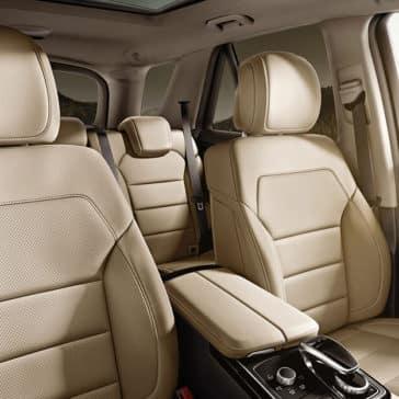2018 MB GLE 350 interior seating