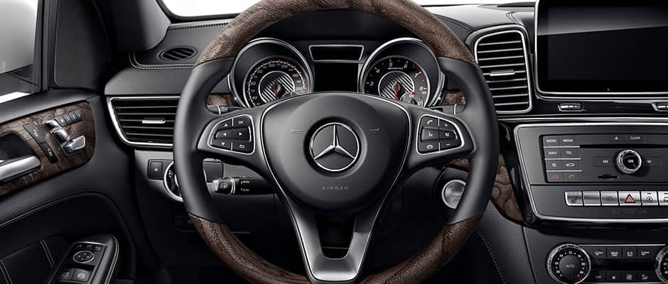 2019 MB GLE Steering Wheel