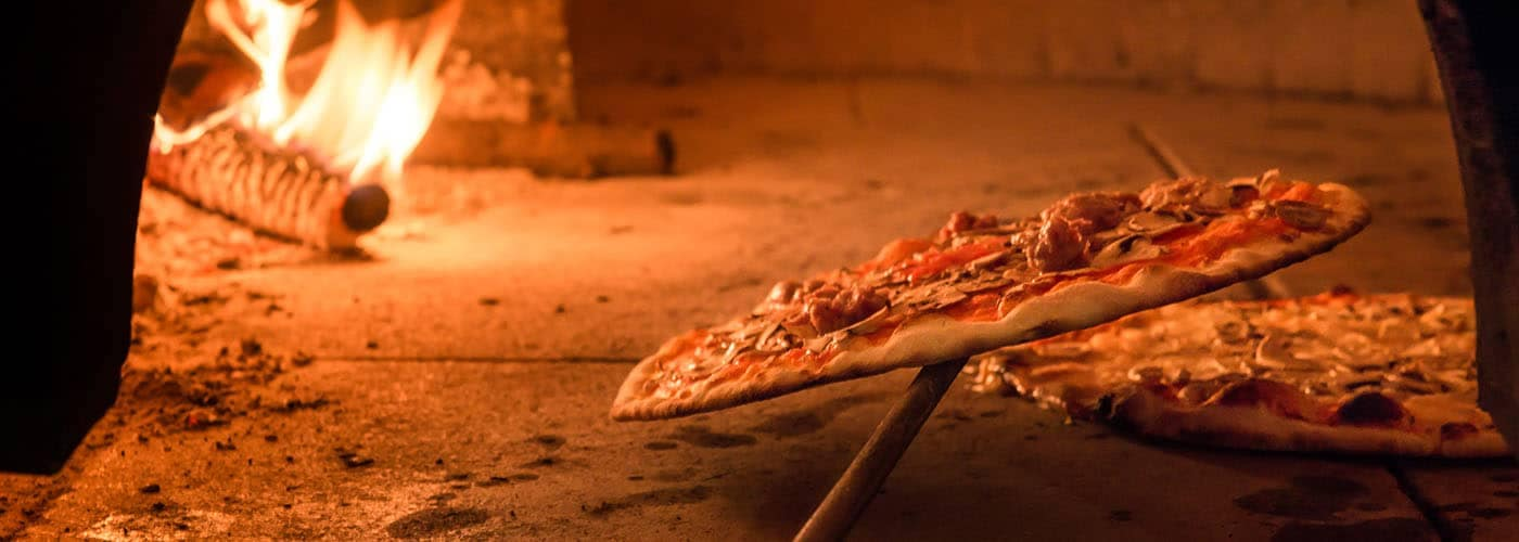 Pizza in Brick Oven