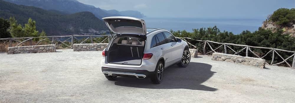 Mercedes-Benz GLC with Backgate Open