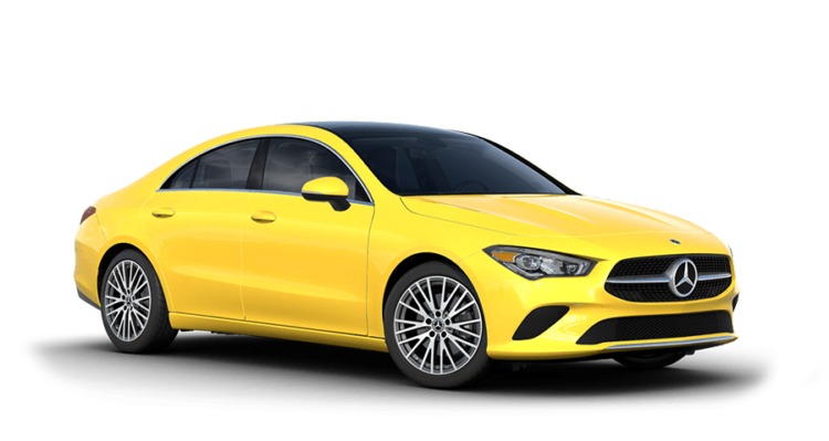 2020 MB CLA Yellow