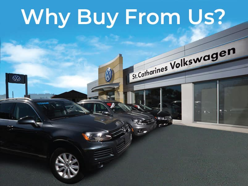 Why Buy From St. Catharines Volkswagen