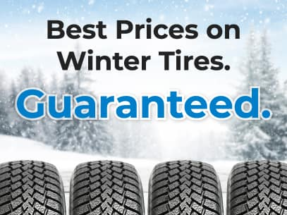 Best prices on tires guaranteed.