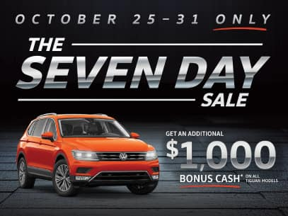 The Seven Day Sales Event