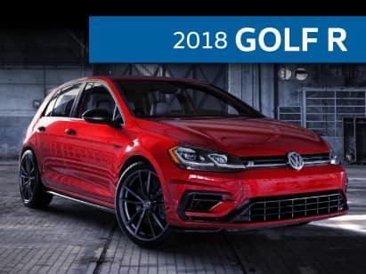 2018 Golf R 2.0T