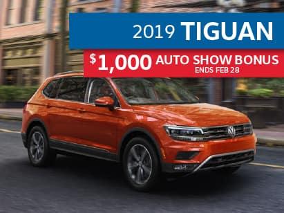 2019 Tiguan Trendline 2.0T FWD
