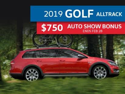 2019 Golf Alltrack Highline 1.8T AWD