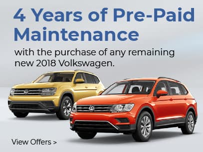 4 Years of Pre-Paid Maintenance