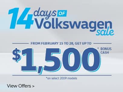 14 Days of Volkswagen