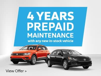 4 Years Prepaid Maintenance