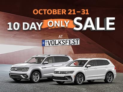 VOLKSFEST 10 day sale only