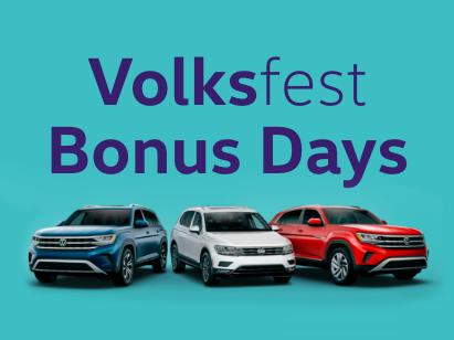Volksfest Bonus Days!