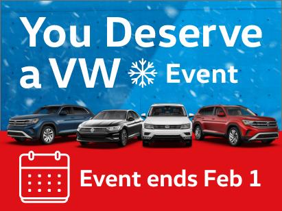 You Deserve a VW Event