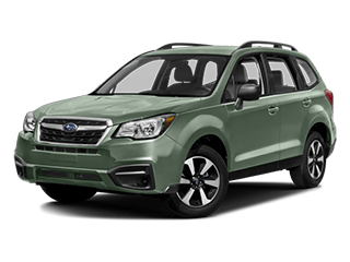 2018 Subaru Forester Angled
