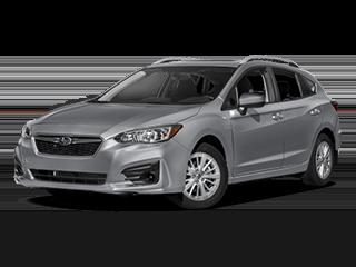 2018 Subaru Impreza Angled