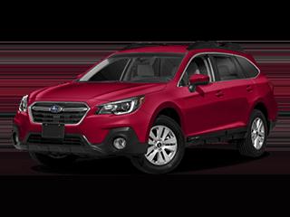 2018 Subaru Outback Angled