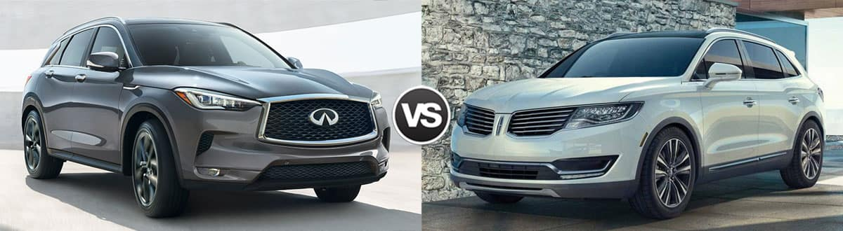 2019 INFINITI QX50 vs 2018 Lincoln MKX