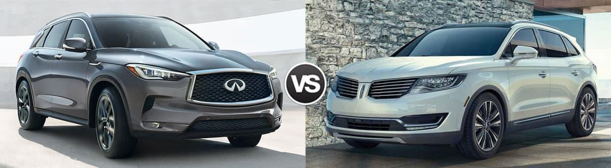 2019 INFINITI QX50 vs 2018 Lincoln MKX