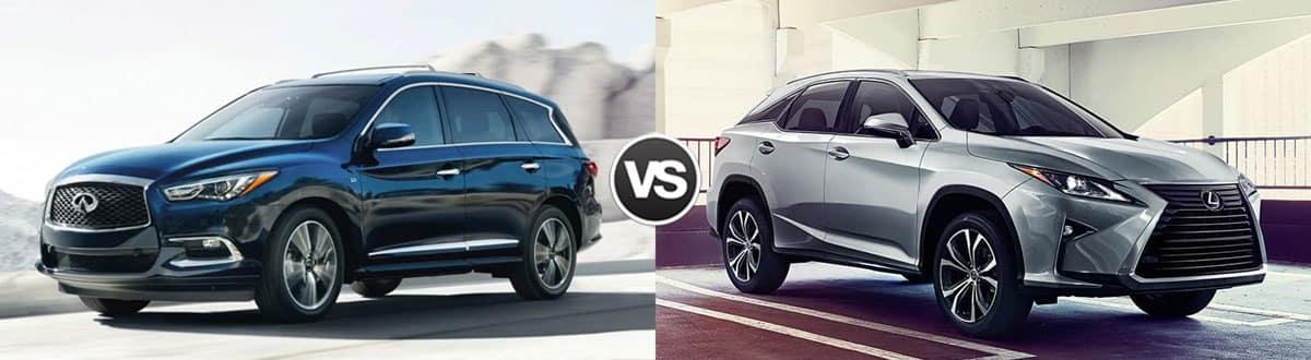 2019 INFINITI QX60 vs 2019 Lexus RX 350