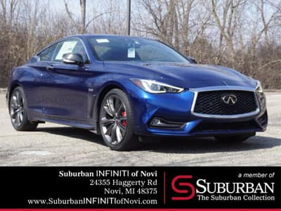 New 2019 INFINITI Q60 3.0t RED SPORT AWD With Navigation & AWD