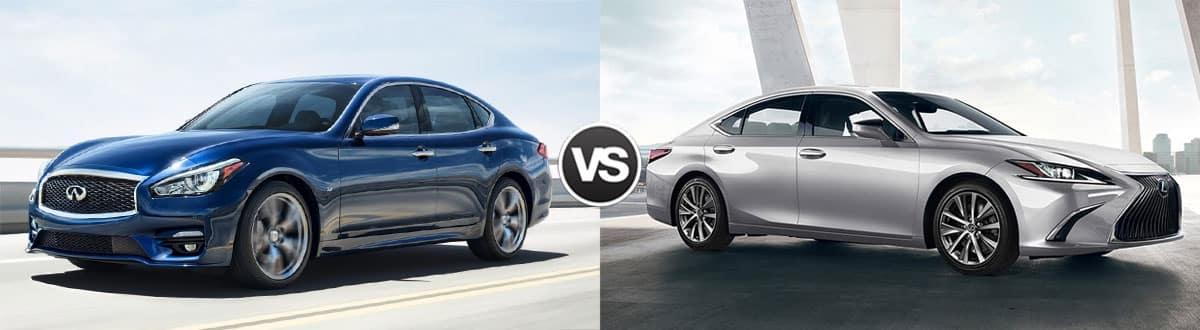 2019 INFINITI Q70 vs 2019 Lexus ES