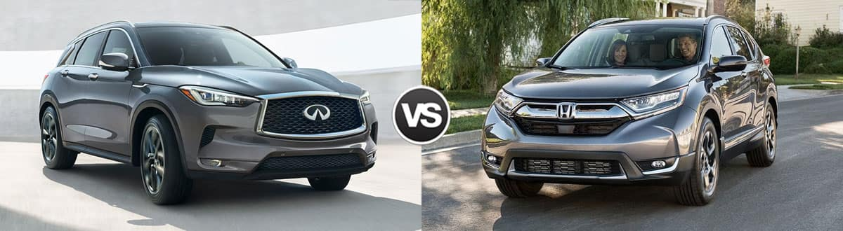 2019 INFINITI QX50 vs 2019 Honda CR-V