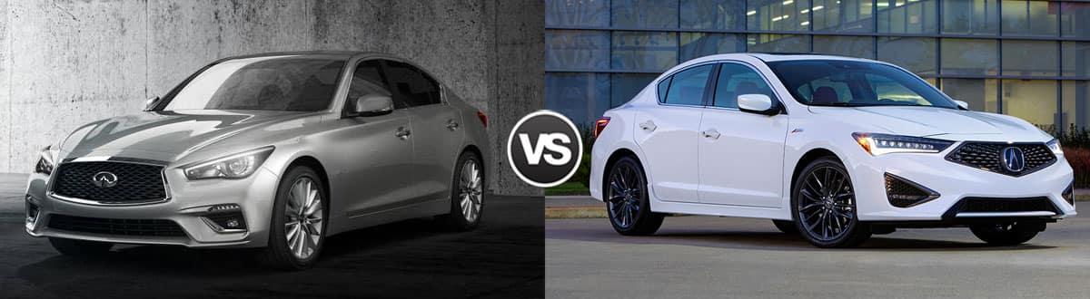 2019 INFINITI Q50 vs 2019 Acura ILX