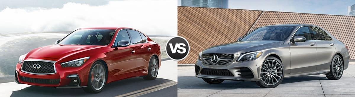 2019 INFINITI Q50 vs 2019 Mercedes-Benz C-Class