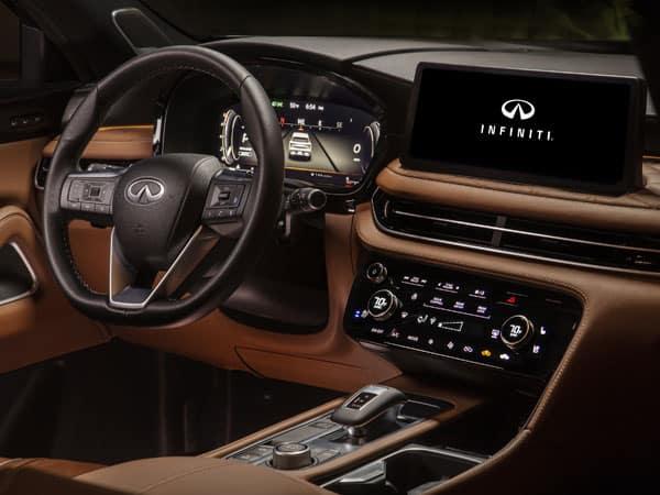 2022 INFINITI QX60 Interior & Touchscreen