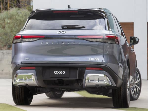 2022 INFINITI QX60 Rear-End & Tailgate