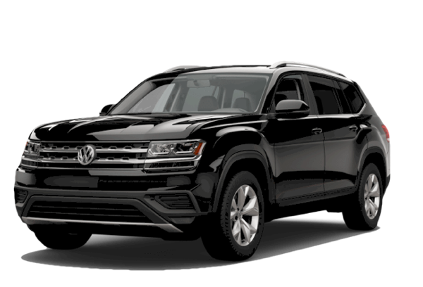 2018 Volkswagen Atlas white background